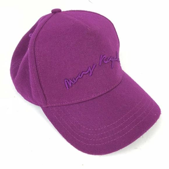 6f0b29ba8 Mons Royale Accessories   Signature Wool Ballcap Unisex Purple ...